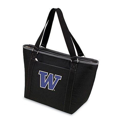 Picnic Time® University of Washington Collegiate Topanga Cooler Tote in Black