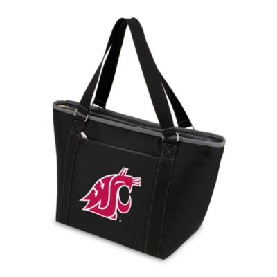 Picnic Time® Washington State University Collegiate Topanga Cooler Tote in Black