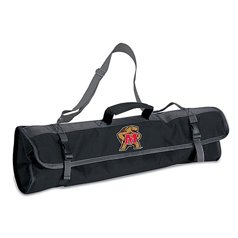 Picnic Time® University of Maryland Collegiate 3-Piece BBQ Tote