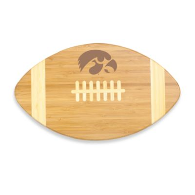Picnic Time® University of Iowa Touchdown! Bamboo Cutting Board