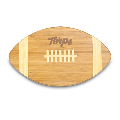 Picnic Time® University of Maryland Touchdown! Bamboo Cutting Board