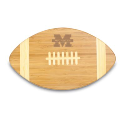 Picnic Time® University of Michigan Touchdown! Bamboo Cutting Board