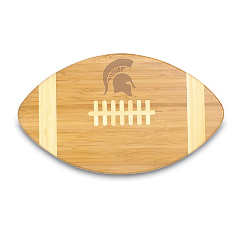 Picnic Time® Michigan State Touchdown! Bamboo Cutting Board