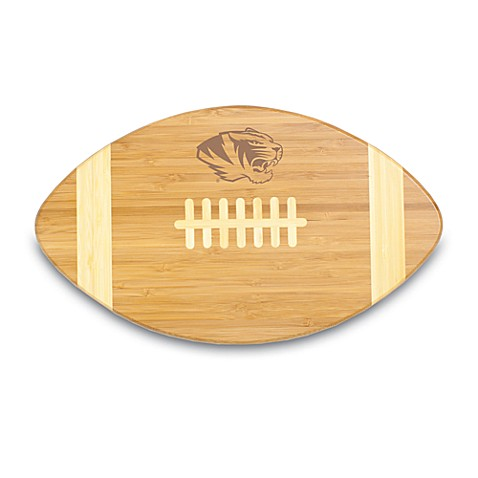 Picnic Time® University of Missouri Touchdown! Bamboo Cutting Board