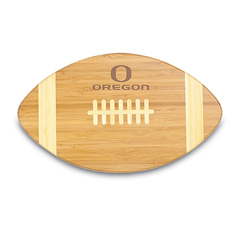 Picnic Time® University of Oregon Touchdown! Bamboo Cutting Board