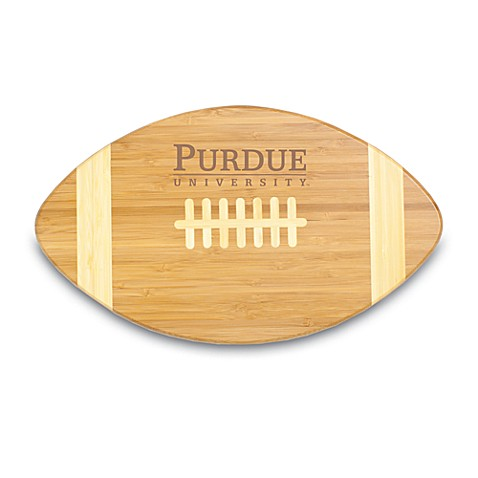 Picnic Time® Purdue University Touchdown! Bamboo Cutting Board