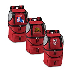 Picnic Time® Red Collegiate Zuma Insulated Cooler Backpack