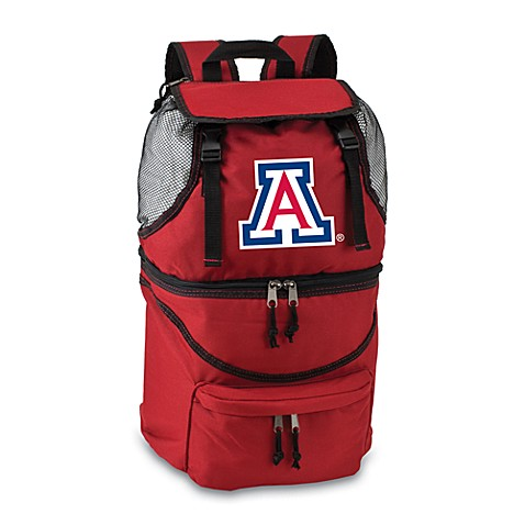 Picnic Time® University of Arizona Collegiate Zuma Insulated Cooler Backpack in Red