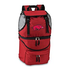 Picnic Time® University of Arkansas Collegiate Zuma Insulated Cooler Backpack in Red