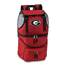 Picnic Time® University of Georgia Collegiate Zuma Insulated Cooler Backpack in Red
