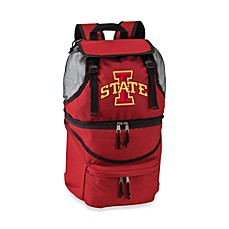 Picnic Time® Iowa State Collegiate Zuma Insulated Cooler Backpack in Red