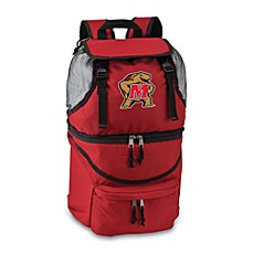 Picnic Time® University of Maryland Collegiate Zuma Insulated Cooler Backpack in Red