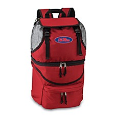 Picnic Time® University of Mississippi Collegiate Zuma Insulated Cooler Backpack in Red