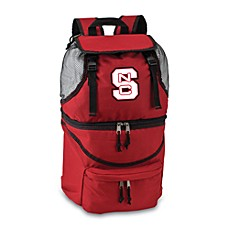 Picnic Time® North Carolina State Collegiate Zuma Insulated Cooler Backpack in Red