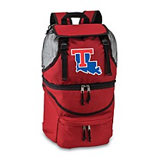 Picnic Time® Louisiana Tech Collegiate Zuma Insulated Cooler Backpack in Red