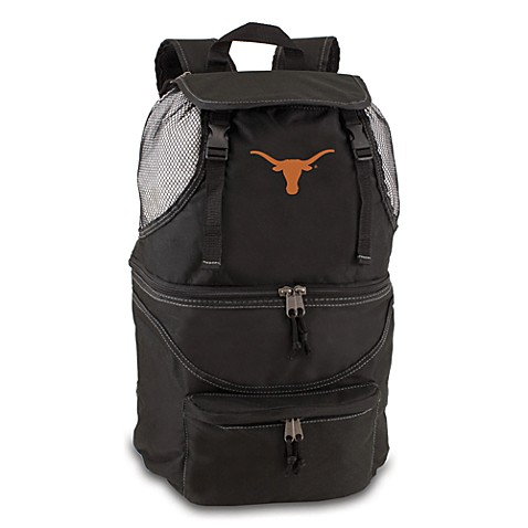 Picnic Time® University of Texas Collegiate Zuma Insulated Cooler Backpack in Black