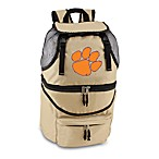 Picnic Time® Clemson University Collegiate Zuma Insulated Cooler Backpack in Beige