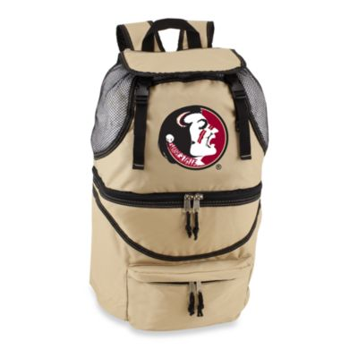 Picnic Time® Florida State University Collegiate Zuma Insulated Cooler Backpack in Beige