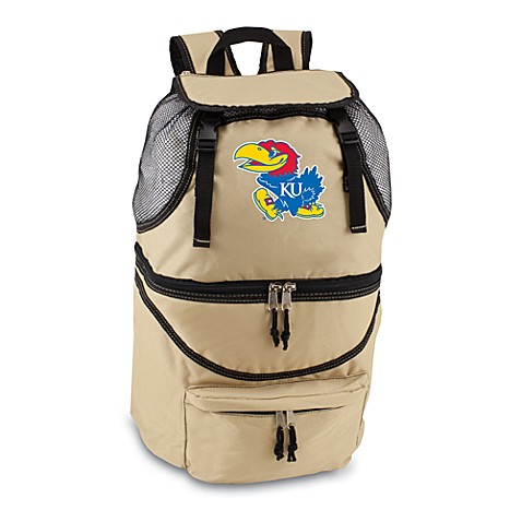 Picnic Time® University of Kansas Collegiate Zuma Insulated Cooler Backpack in Beige