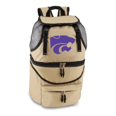 Picnic Time® Kansas State University Collegiate Zuma Insulated Cooler Backpack in Beige