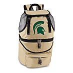 Michigan State Picnic Time® Beige Collegiate ZuMainsulated Cooler Backpack