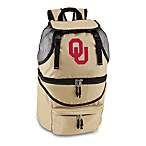Picnic Time® University of Oklahoma Collegiate Zuma Insulated Cooler Backpack in Beige