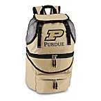 Picnic Time® Purdue University Collegiate Zuma Insulated Cooler Backpack in Beige