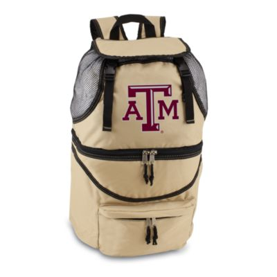 Picnic Time® Texas A & M Collegiate Zuma Insulated Cooler Backpack in Beige