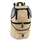 Picnic Time® University of Virginia Collegiate Zuma Insulated Cooler Backpack in Beige