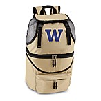 Picnic Time® University of Washington Collegiate Zuma Insulated Cooler Backpack in Beige