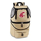 Picnic Time® Washington State University Collegiate Zuma Insulated Cooler Backpack in Beige