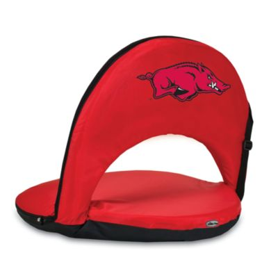 Picnic Time® University of Arkansas Collegiate Oniva Seat in Red