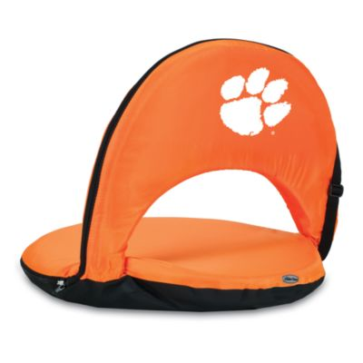 Picnic Time® Clemson University Collegiate Oniva Seat in Orange