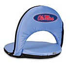 Picnic Time® University of Mississippi Collegiate Oniva Seat in Sky Blue
