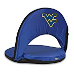Picnic Time® West Virginia University Collegiate Oniva Seat in Navy Blue
