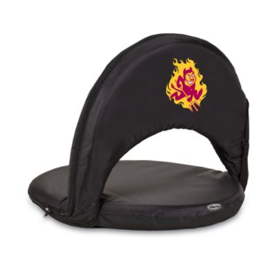 Picnic Time® Arizona State Collegiate Oniva Seat in Black