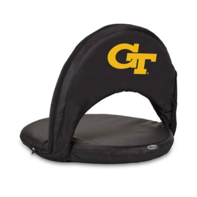 Picnic Time® Georgia Tech Collegiate Oniva Seat in Black