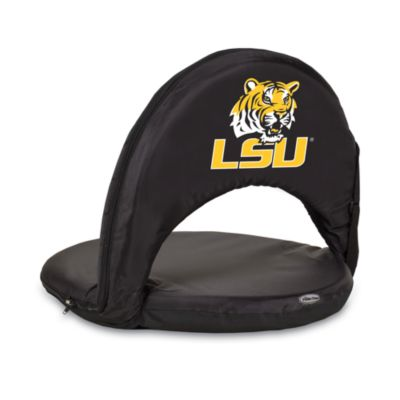 Picnic Time® Louisiana State University Collegiate Oniva Seat in Black