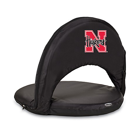 Picnic Time® University of Nebraska Collegiate Oniva Seat in Black