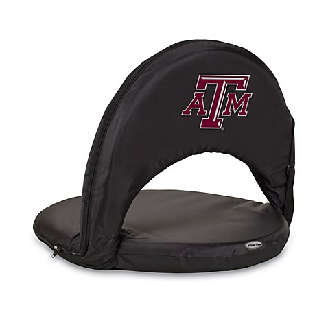 Picnic Time® Texas A & M Collegiate Oniva Seat in Black