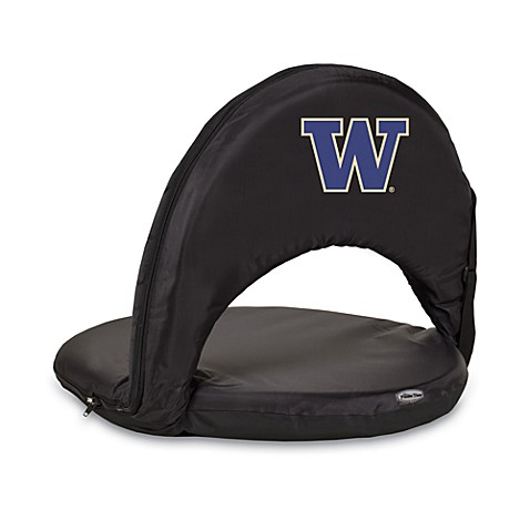 Picnic Time® University of Washington Collegiate Oniva Seat in Black
