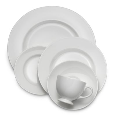 Wedgwood® White 5-Piece Place Setting