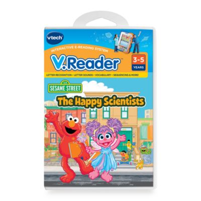 V. Reader Cartridge in Elmo - from V-Tech
