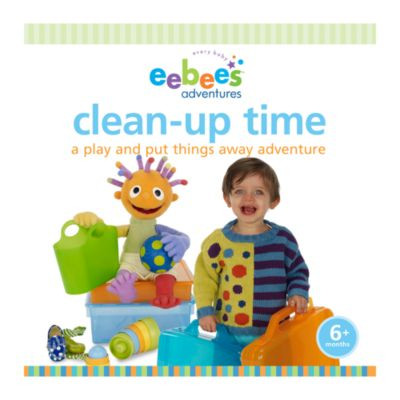 eebee's Adventures Board Book in Clean-Up Time