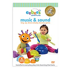 eebee's™ Adventures DVDs in Music & Sound