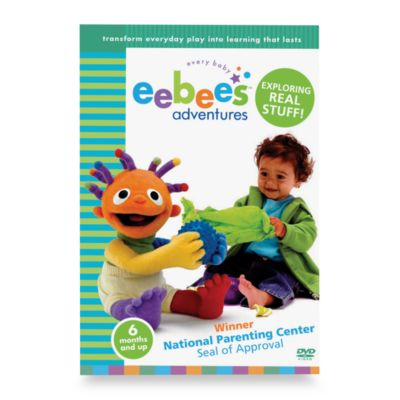 eebee's Adventures DVDs in Exploring Real Stuff