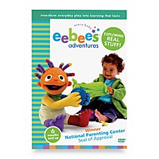 eebee's™ Adventures DVDs in Exploring Real Stuff