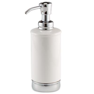 White Lotion Dispenser