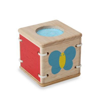 Plan Toys® Baby First's Block in Touch And Sound