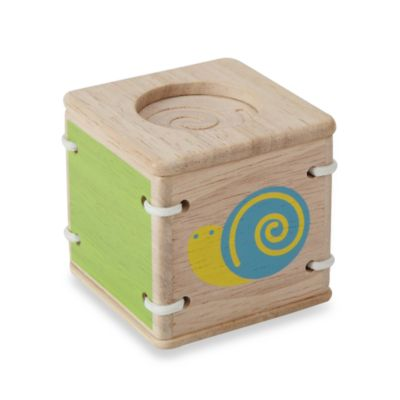 Plan Toys® Baby First's Block in Feel and Sound